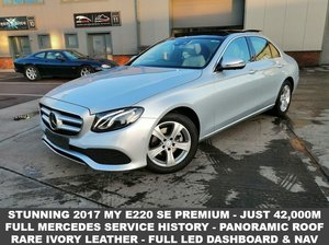 2016 66 MERCEDES-BENZ E-CLASS 2.0 E 220 D SE PREMIUM 4d 192  For Sale