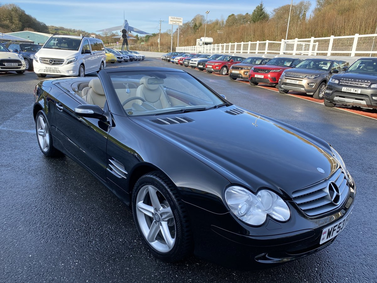 2003 53 MERCEDES-BENZ SL350  For Sale (picture 1 of 6)