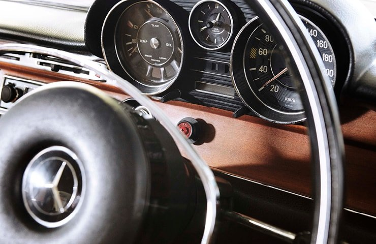 1972 Mercedes 280S Stunning  For Sale (picture 7 of 10)