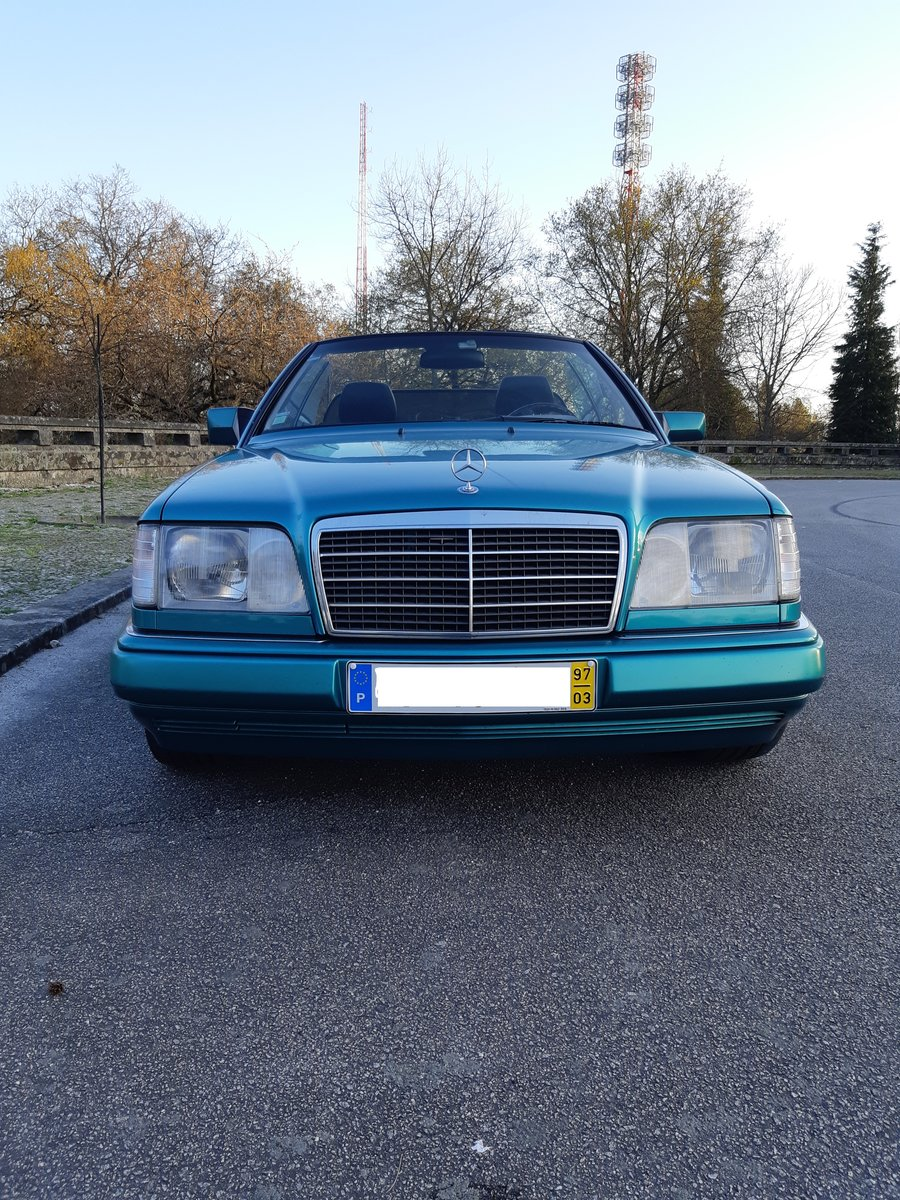 1997 LHD Mercedes E220 cabriolet Final Edition For Sale (picture 1 of 6)
