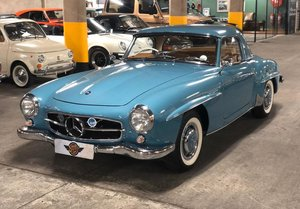 1961 R121 Mercedes Benz 190SL RHD For Sale
