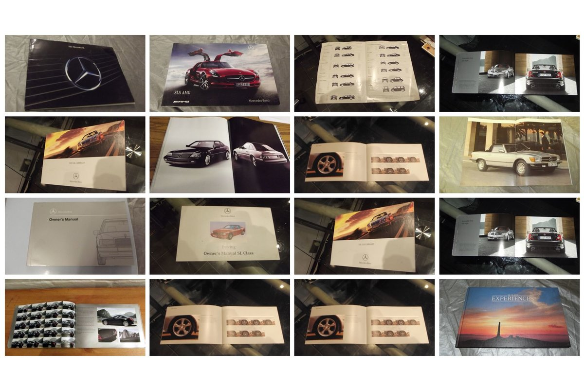 0000 MERCEDES VARIOUS MANUALS AND MEMORABILIA FOR SALE For Sale (picture 6 of 6)