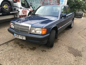 1992 Mercedes 190E 2.0 Petrol 5 Speed Manual For Sale