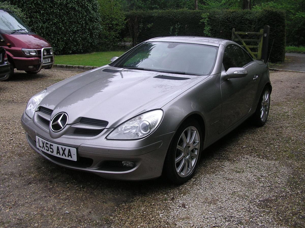 2005 Mercedes-Benz SLK 1.8 SLK200 Kompressor For Sale (picture 4 of 6)