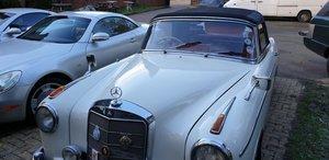 1959 Mercedes220S convertible
