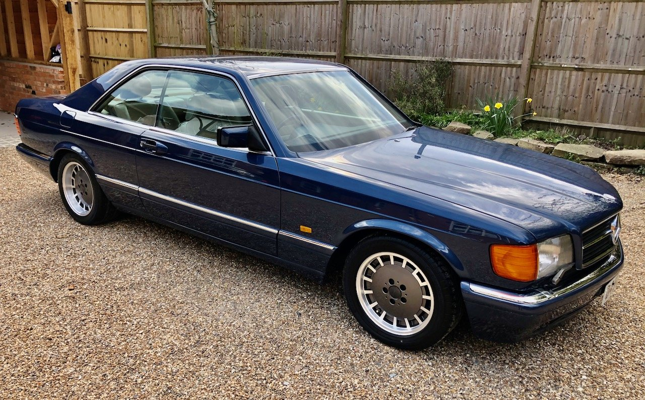 1987/D Mercedes 560SEC C126 coupe. 83k miles. 500SEC 420 SEC For Sale (picture 1 of 6)