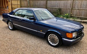 1987/D Mercedes 560SEC C126 coupe. 83k miles. 500SEC 420 SEC For Sale