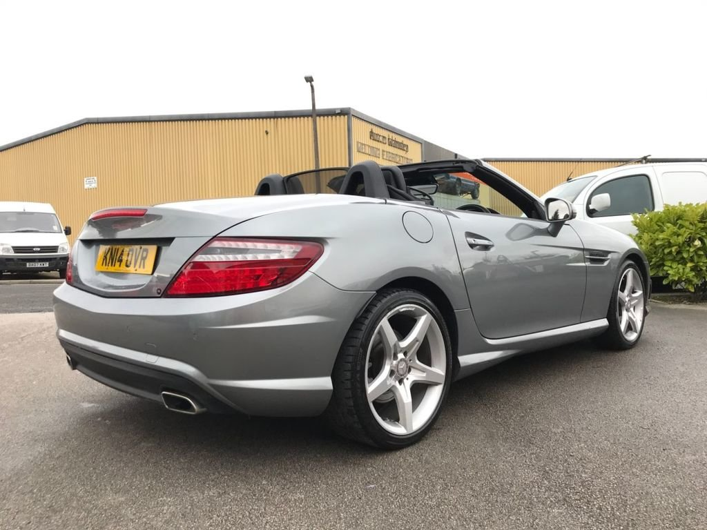 2014 Mercedes SLK 350 2dr Convertible 3.5 V6 ONLY 31468 MILES SOLD (picture 2 of 6)