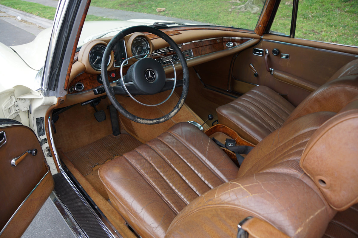 Orig Survivor 1969 Mercedes 280SE Coupe For Sale (picture 5 of 6)
