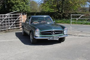 1965 Mercedes-Benz 230SL Pagoda 5 Speed Manual, Fully Restored SOLD