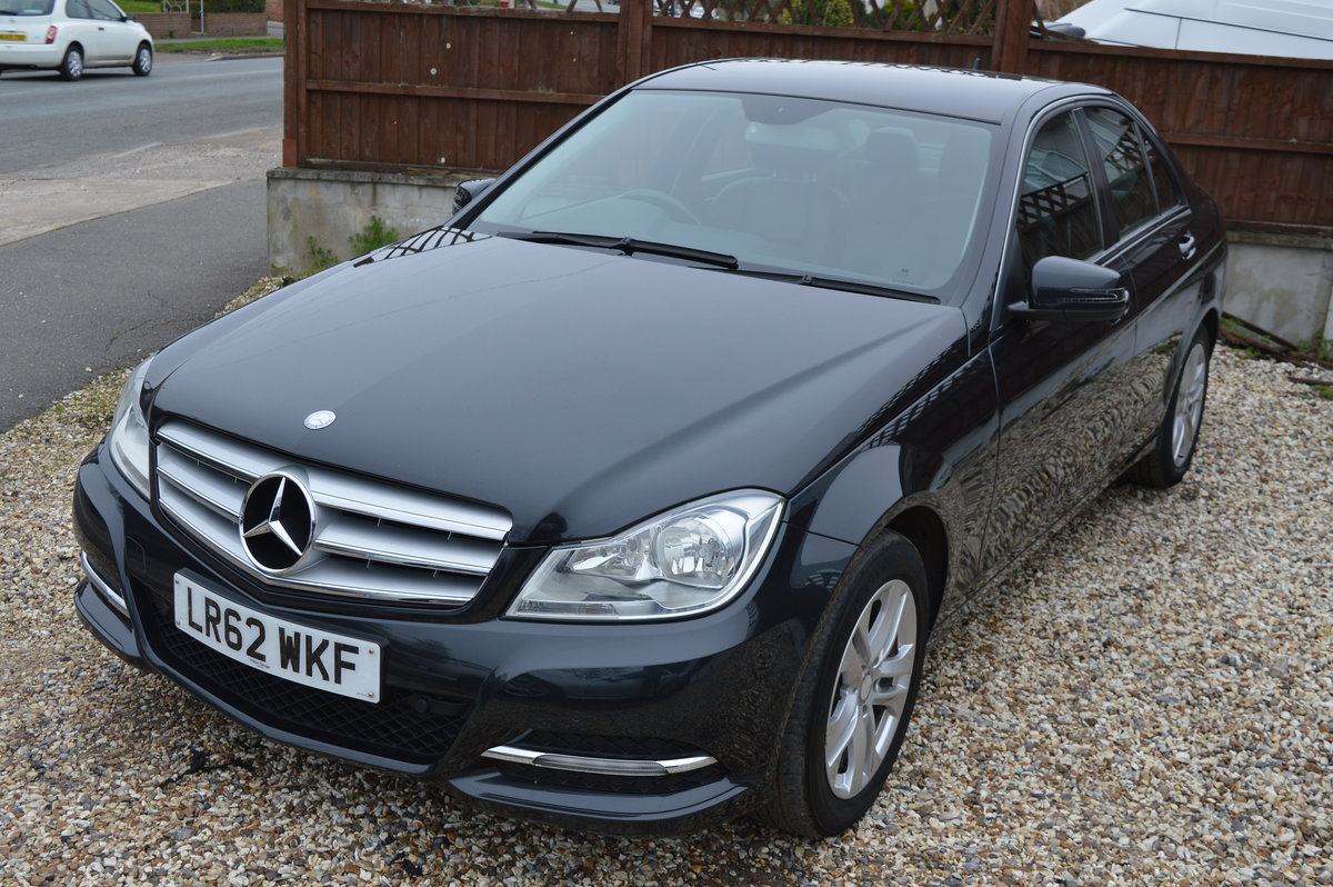 2012 Mercedes-Benz C Class 2.1 C200 CDI BlueEFFICIENCY SE For Sale (picture 1 of 6)