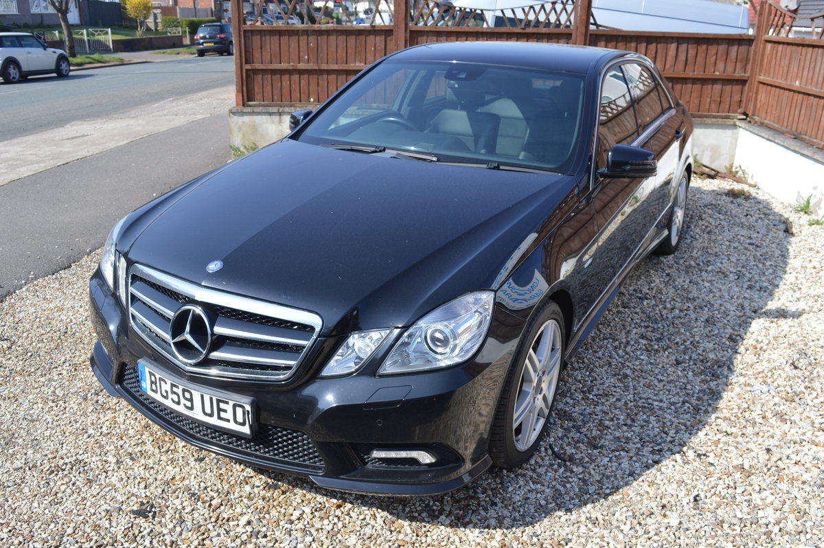 2009 Mercedes-Benz E Class 2.1 E250 CDI BlueEFFICIENCY Sport 4dr  For Sale (picture 1 of 6)