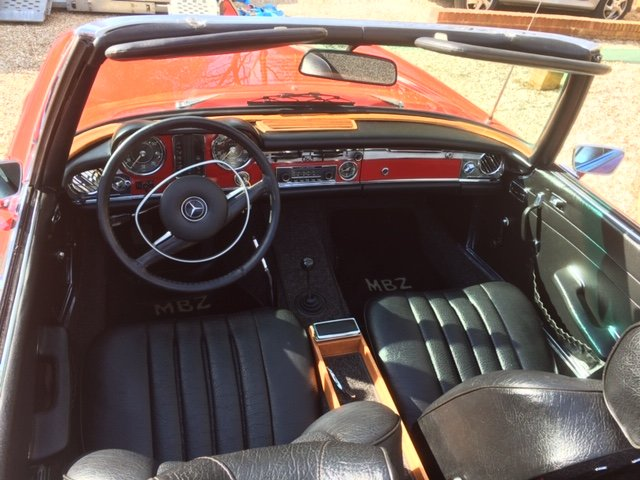 1971 MERCEDES BENZ 280SL PAGODA W113 MANUAL For Sale (picture 3 of 6)