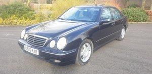 2000 Mercedes E280 Avantgarde For Sale by Auction