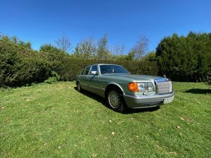 1987 Mercedes 500SEL For Sale by Auction