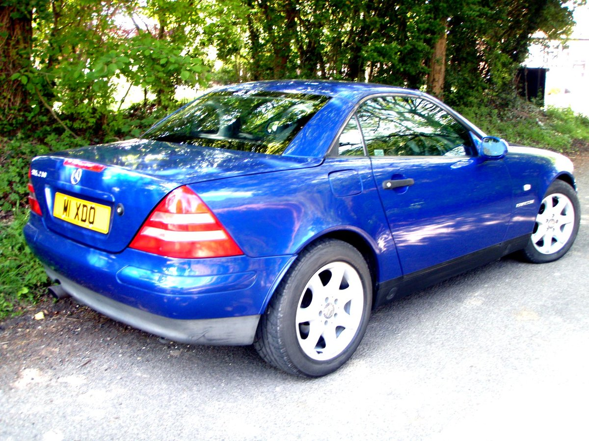1997 Mercedes SLK230K Might P/Ex For Sale (picture 6 of 6)