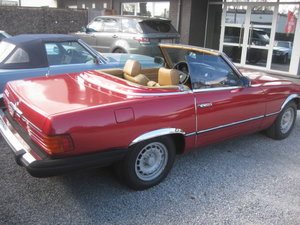 Picture of Mercedes SL380 Cabriolet 1985 (hobby Project ) For Sale