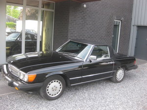 1986 Mercedes SL 560 CABRIO MODEL 107, 4PLACES ! 1OWNER ! 95868MI