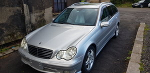 2002 Mercedes C32 AMG Estate Japanese import rust free