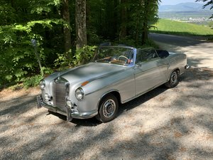 1959 Mercedes Cabriolet For Sale