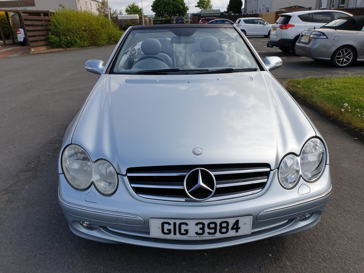 2004 MERCEDES BENZ CLK 240 CONVERTIBLE For Sale (picture 1 of 6)