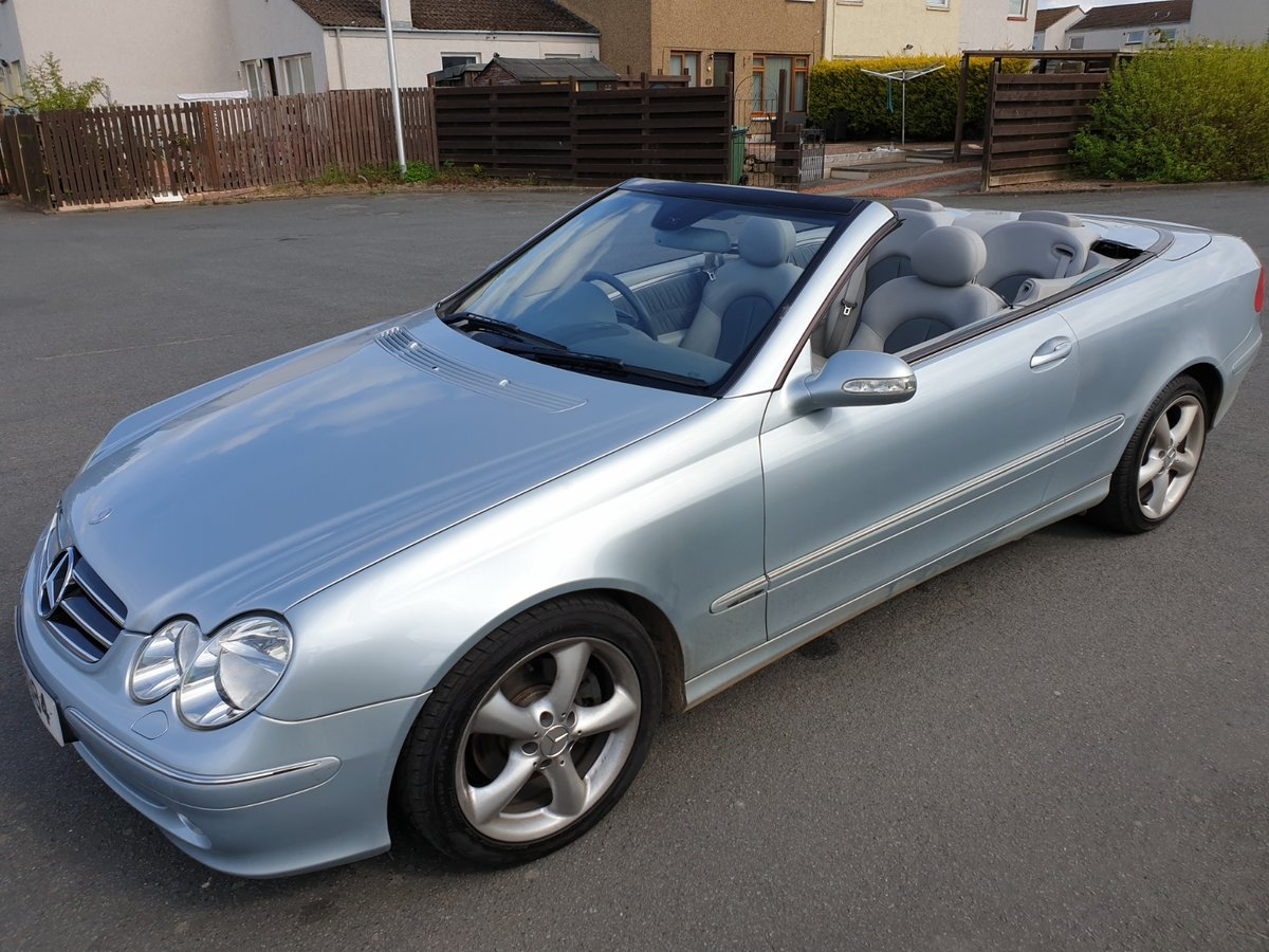2004 MERCEDES BENZ CLK 240 CONVERTIBLE For Sale (picture 4 of 6)