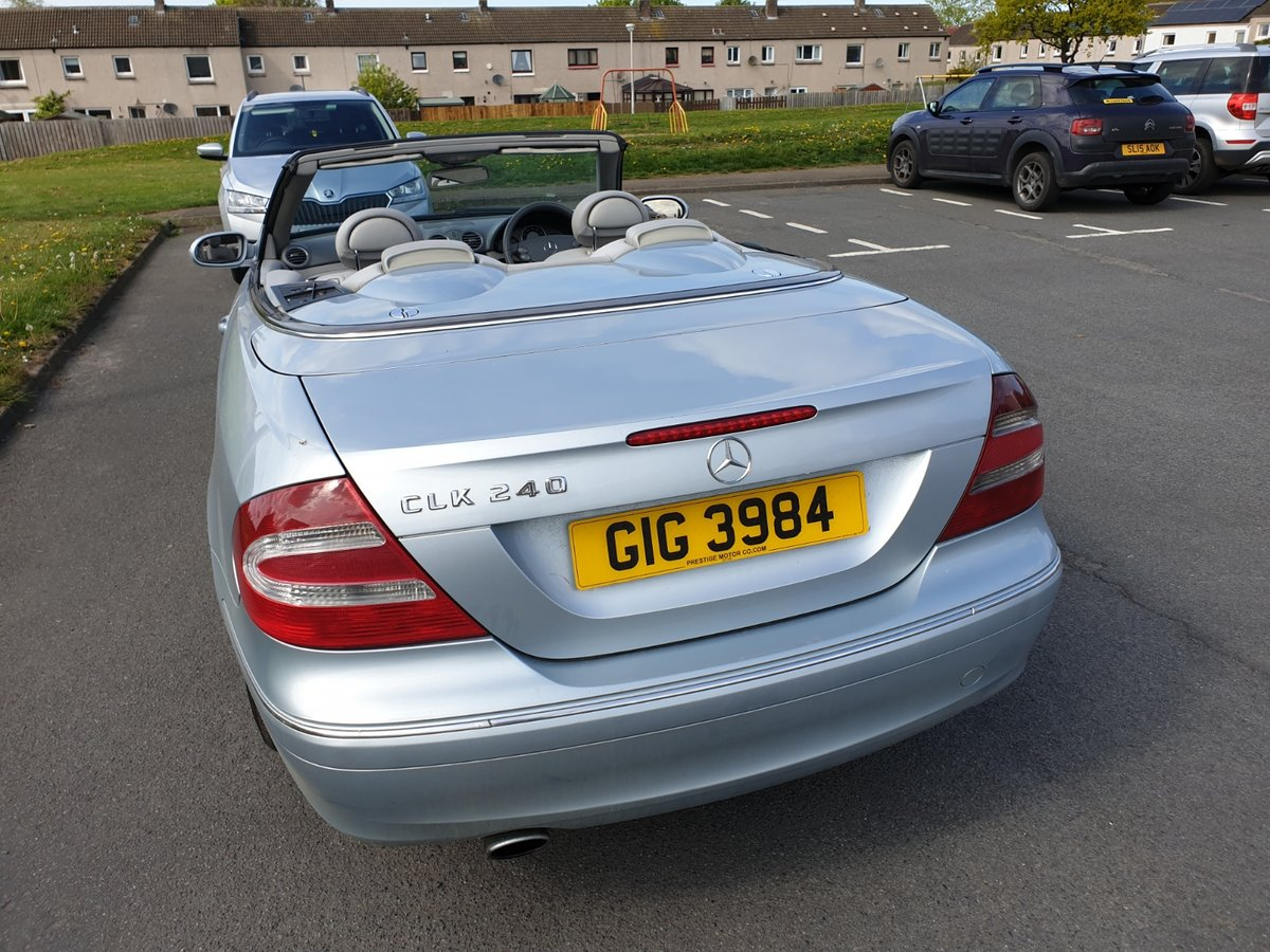 2004 MERCEDES BENZ CLK 240 CONVERTIBLE For Sale (picture 5 of 6)