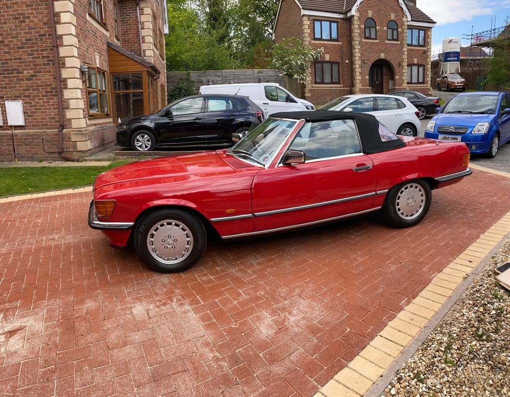 1986 Mercedes 300sl (r107)      For Sale (picture 3 of 6)