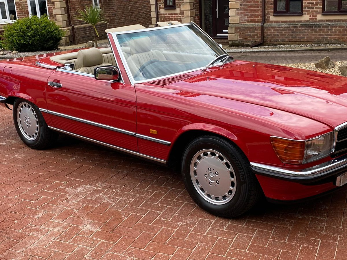 1986 Mercedes 300sl (r107)      For Sale (picture 4 of 6)