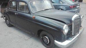 1962 MERCEDES  180 C