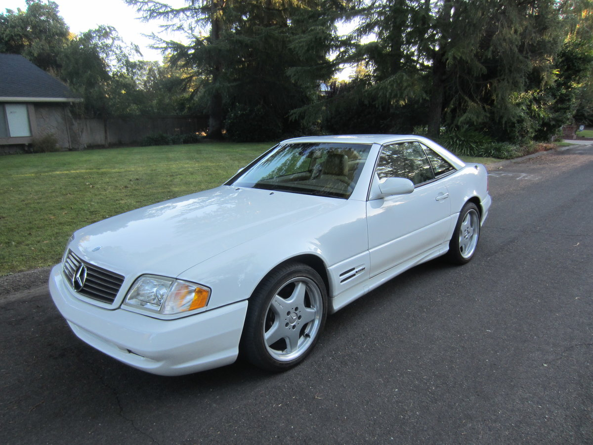 2000 Mercedes Benz 500SL For Sale (picture 1 of 6)