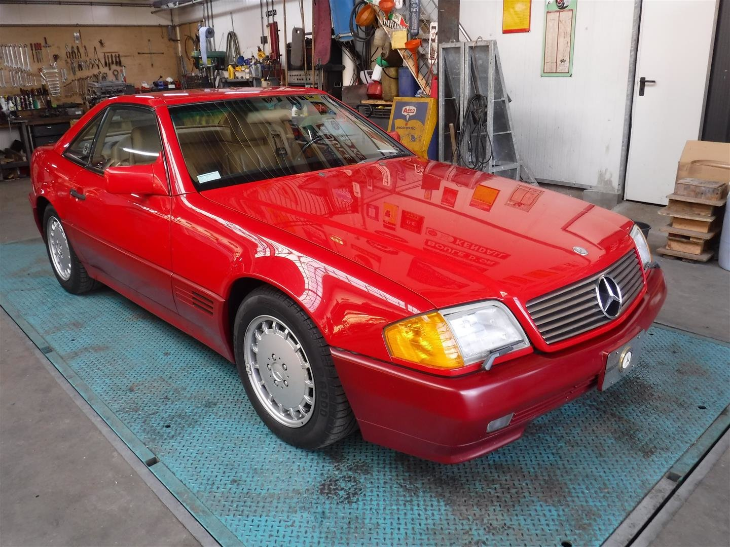 Mercedes Benz 500SL 1990 (35250 miles!!!) For Sale (picture 1 of 6)