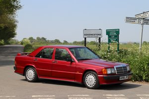 Mercedes 190E 2.5-16v Cosworth, 1989.  RHD 5 Speed Manual.