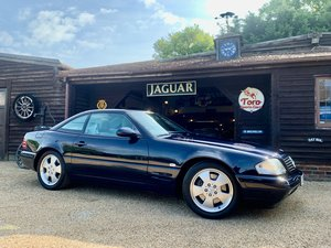 2001 MERCEDES R129 SL320 V6. 45,000 MILES, TWO FORMER KEEPERS! SOLD