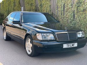 1999 Mercedes-Benz S Class 6.0 S600 4dr Limo SOLD