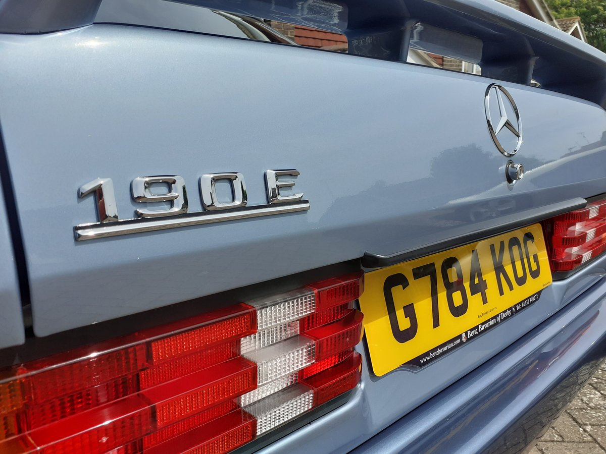 1989 Mercedes 190E High Quality 2.0 5sp Manual  For Sale (picture 4 of 6)