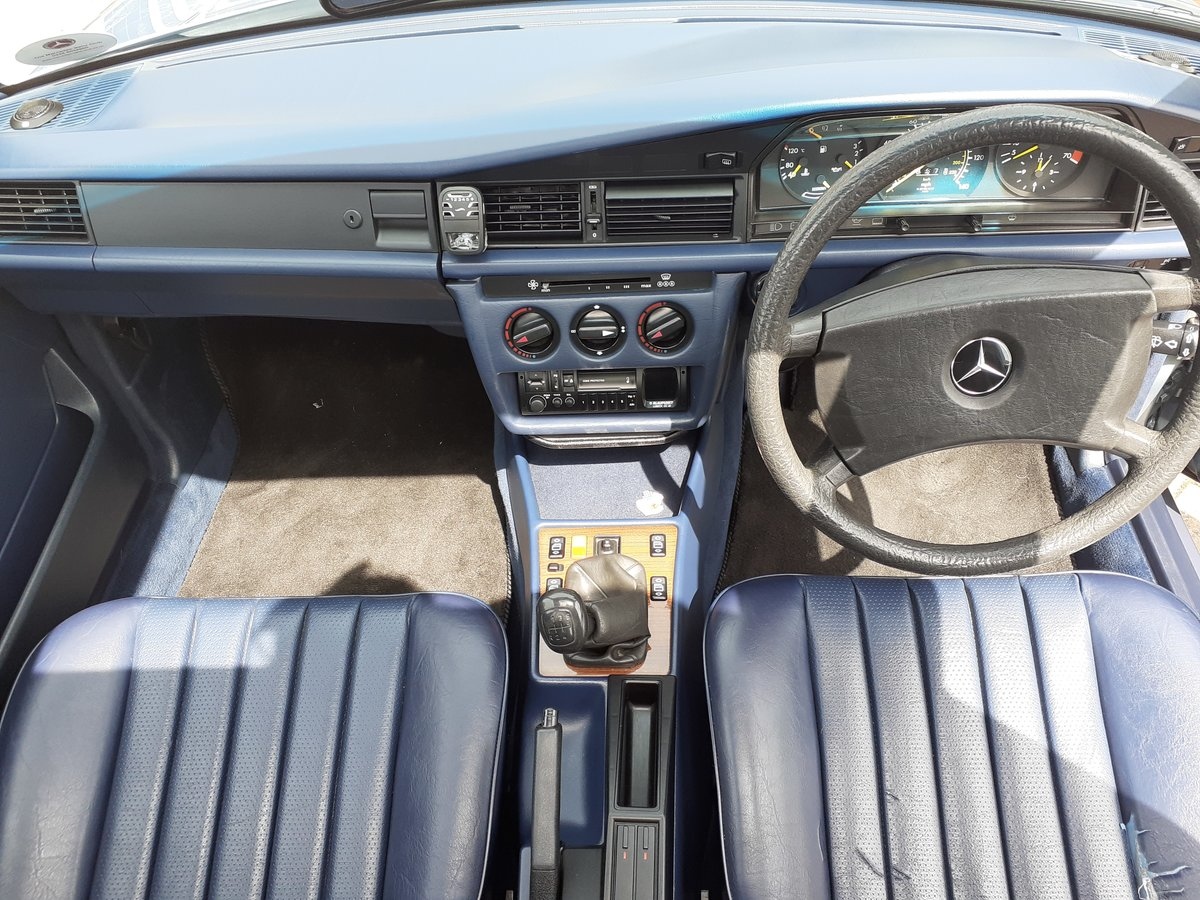 1989 Mercedes 190E High Quality 2.0 5sp Manual  For Sale (picture 6 of 6)