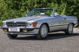 1986 Mercedes-Benz 420SL V8 (R107) LHD #2183 Just 39k miles