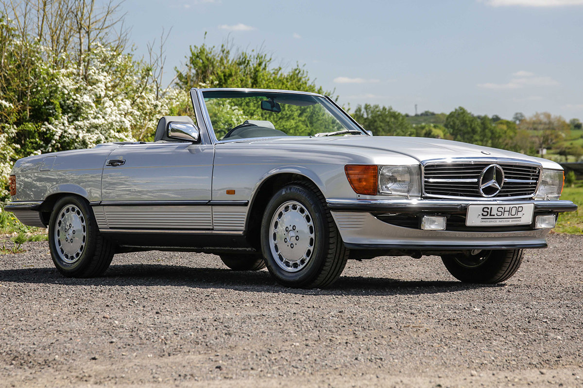 1986 Mercedes-Benz 420SL V8 (R107) #2045 55k miles Rear Seating For Sale (picture 1 of 6)