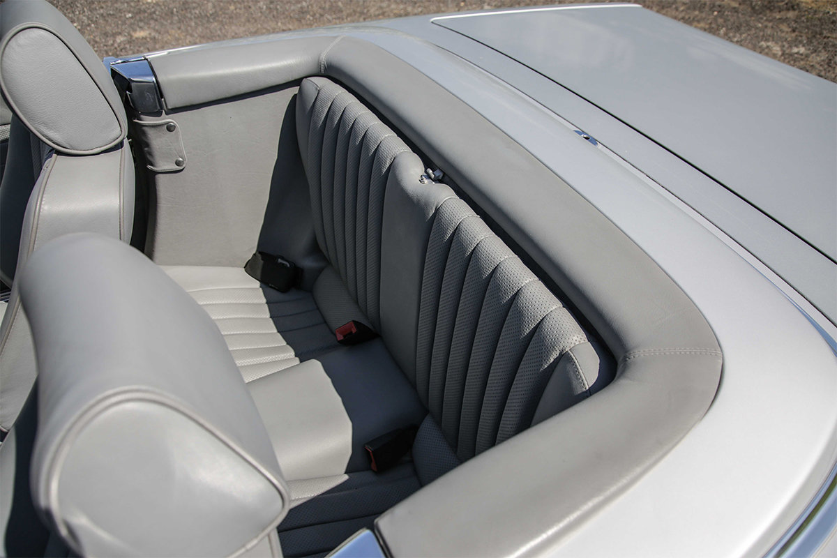 1986 Mercedes-Benz 420SL V8 (R107) #2045 55k miles Rear Seating For Sale (picture 5 of 6)