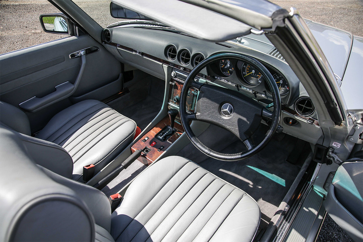 1986 Mercedes-Benz 420SL V8 (R107) #2045 55k miles Rear Seating For Sale (picture 6 of 6)