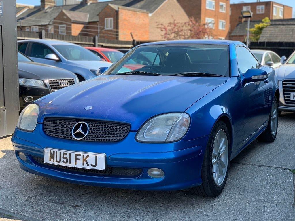 2001 Mercedes-Benz SLK 2.0 SLK200 Kompressor 2dr SOLD (picture 2 of 6)