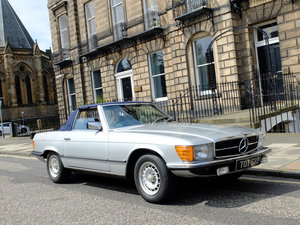 1979 MERCEDES 350 SL - VERY RARE MANUAL EXAMPLE - 52K MILES
