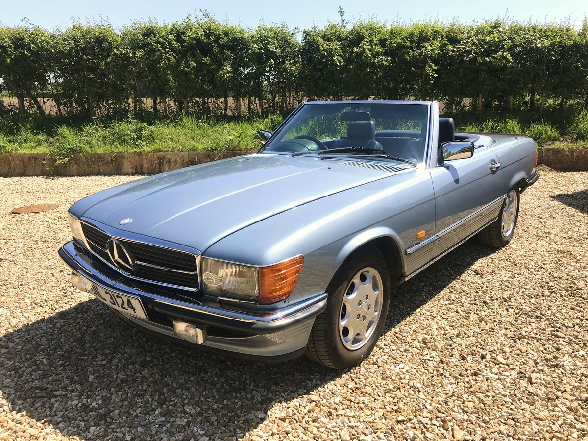 Mercedes 500 SL 1986 Convertible For Sale   Car And Classic
