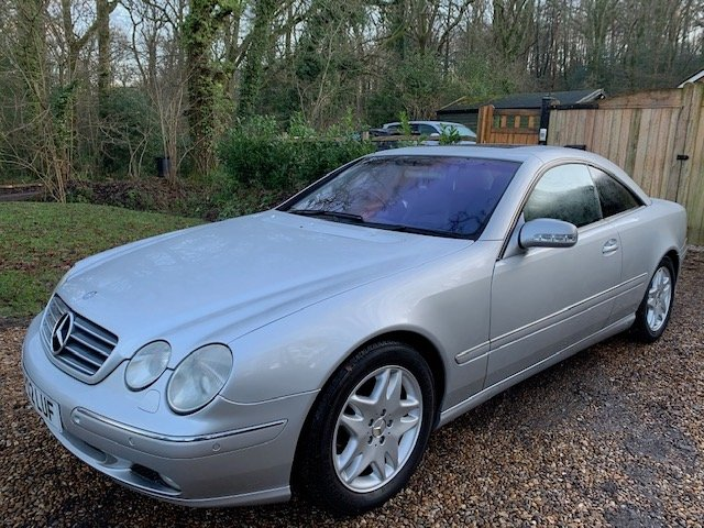 Mercedes-Benz CL (2002) CL500 5.0 Coupe 2dr For Sale (picture 1 of 6)