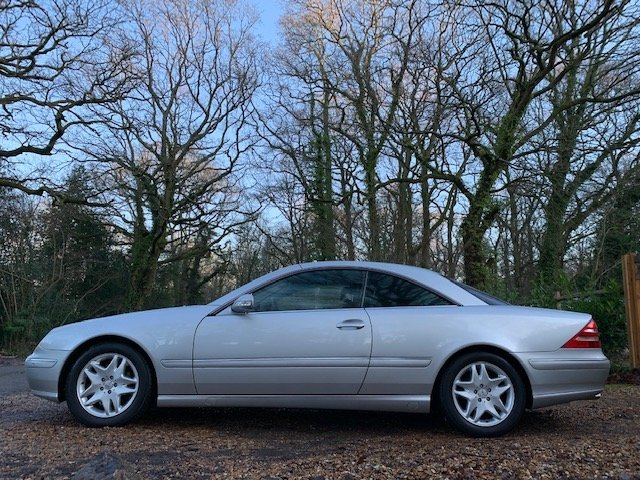 Mercedes-Benz CL (2002) CL500 5.0 Coupe 2dr For Sale (picture 2 of 6)