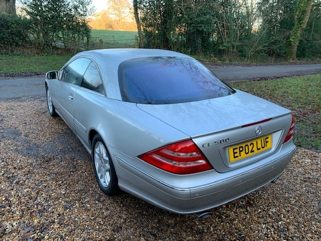 Mercedes-Benz CL (2002) CL500 5.0 Coupe 2dr For Sale (picture 3 of 6)