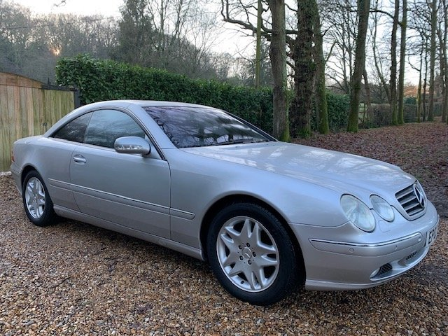 Mercedes-Benz CL (2002) CL500 5.0 Coupe 2dr For Sale (picture 4 of 6)