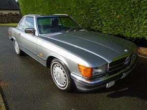 1988 Mercedes Benz SL500 Silver Convertable Auto