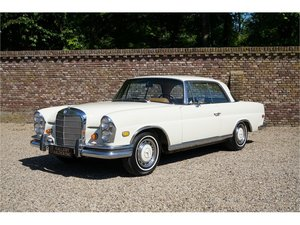 Mercedes-Benz W111 280 SE Coupe Only 31000 Miles from new, f